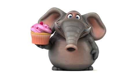 Fun Elephant - 3D Animation Animation