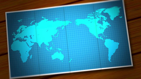 Open map After Effects Template