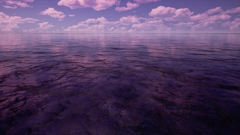 Sunrise sea Animation