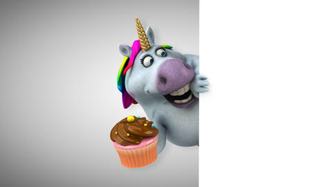 Fun unicorn - 3D Animation Animation