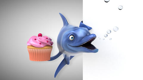 Fun dolphin - 3D Animation Animation