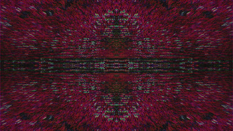 Futuristic fractals kaleidoscope, vibrant motion graphic for club videos 실사 촬영
