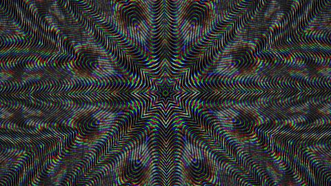 Transforming fractal mandala, vibrant elements for meditating shows 실사 촬영