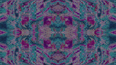 Psychedelic fractals ornaments, iridescent animation for meditation videos 실사 촬영
