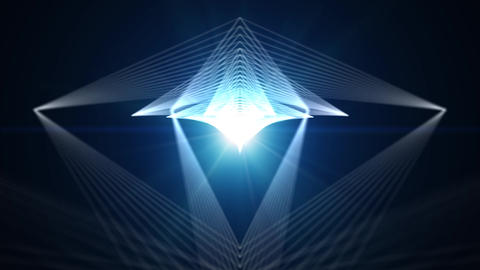 Abstract Background for Media Production. Square Dynamic… Stock Video Footage