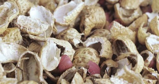 Roasted peanut shells Live Action