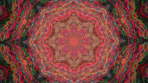 Organic geometrical mandala, vibrant elements for yoga videos 실사 촬영