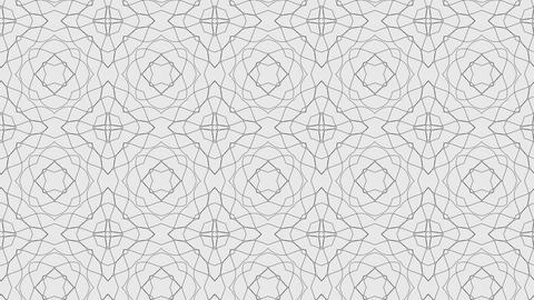 Abstract white pattern background Stock Video Footage
