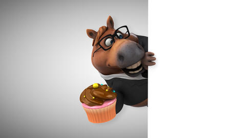 Fun horse - 3D Animation Animation