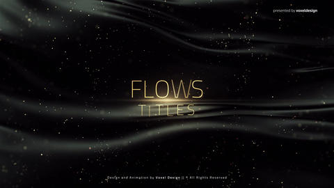 Flows Titles After Effectsテンプレート