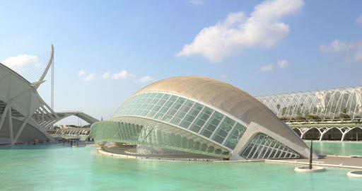 Hemispheric of Arts of City of Arts and Sciences Live Action