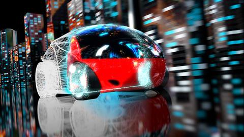 3D Car transformation - 3D Animation Animation