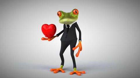 Fun frog Animation
