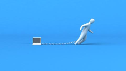 Burden symbol - 3D Animation Animation