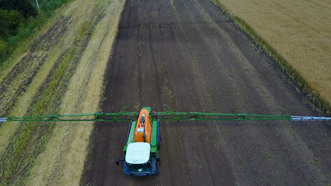 Self-Propelled Agricultural Sprayer Live Action