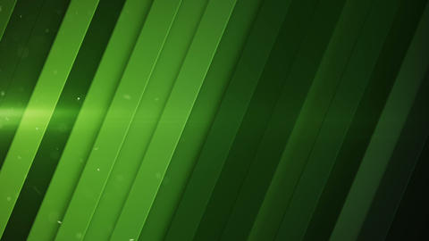 Diagonal stripes and green light flares seamless loop 3D render animation Animation
