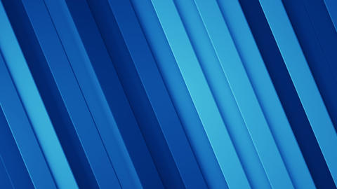Blue background with diagonal stripes seamless loop 3D render animation Animation