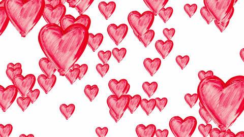 Rain of hearts Animation