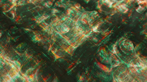 Data decay visualization seamless loop 3D render animation Animation