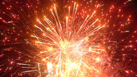 Fireworks display event seamless loop Live Action