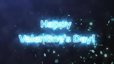 Happy Valentines Day from plasma Animation