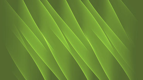diagonally flowing green waves, calming nature abstract background Animation