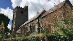 St Mary church Dunsford Devon UK Footage