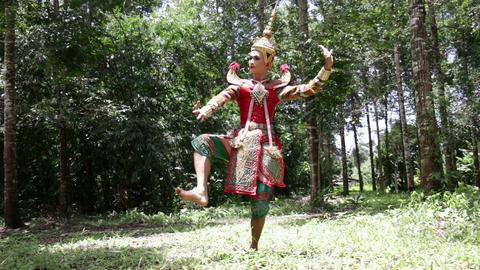 Supreme thai mask or Khon dance drama thai style, Live Action