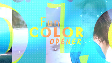 Fun Colors Opener - After Effects Template After Effects Template