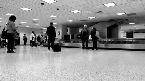 Bush International Airport baggage claim 4K Footage