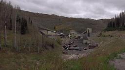 Coal Mine Utah Mountains nature industry 4K Footage