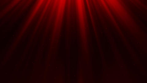 Red Light Rays & Dust Particles Loop Motion Background Animation