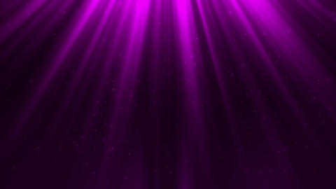 Purple Light Rays & Dust Particles Loop Motion Background Animation