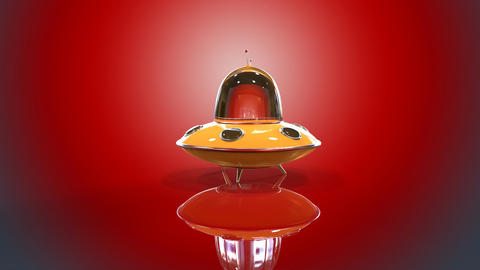 Flying saucer, Stock Animation