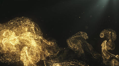 Dreamy Magical Dust Particles Background Animation