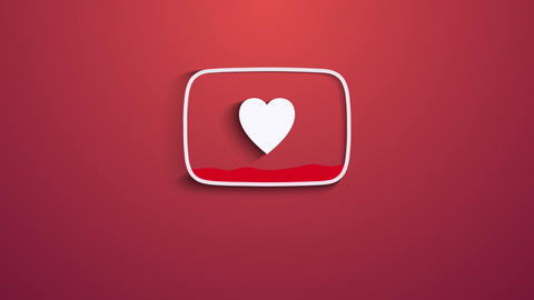 Valentines Day (Youtube Logo) After Effects Template
