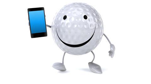 Golf ball Animation