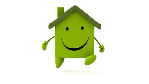 Green house running Animation