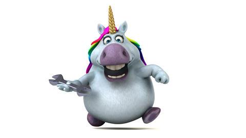 Fun unicorn - 3D Animation Animation