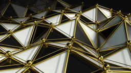 Elegant Polygon Waves 2 Animation
