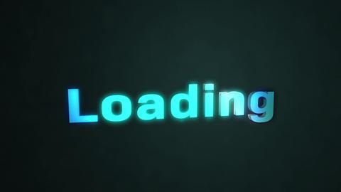 Loding 3Dロゴ CG動画
