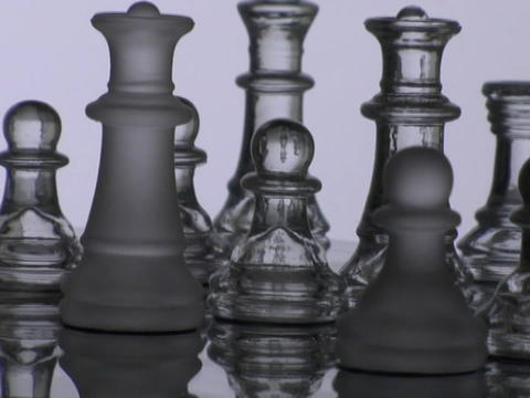 A chess player takes a pawn Stock Video Footage
