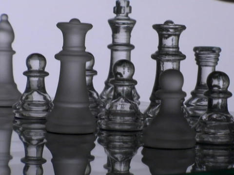 A chess player takes a pawn Footage