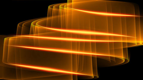 Plasmatic blurry spiral with fiery glowing edges, fantasy sci-fi animation on Animation