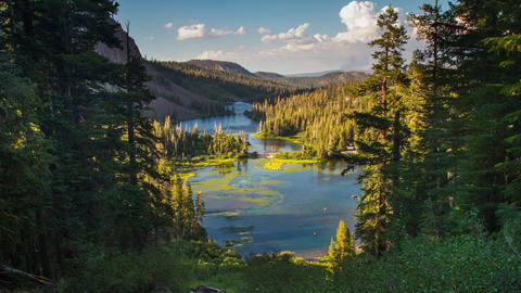 Lake Landscape Time Lapse Landscape Live Action