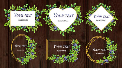 Flower headers After Effects Template