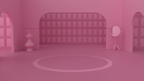Pink Room Logo After Effects Template