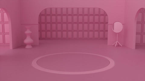 Pink Room Logo Premiere Pro Template