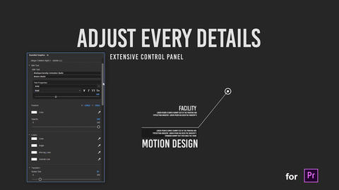 Dynamic Call Outs for Premiere Pro Motion Graphics Template
