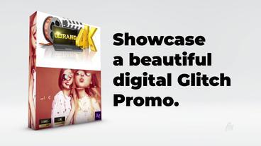 Digital glitich Promo After Effects Template